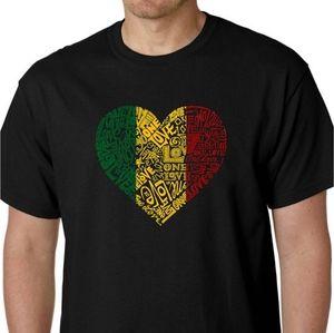 LA Pop Art NWT one love heart graphic t-shirt